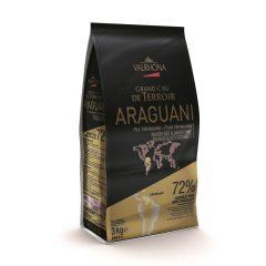Valrhona Dark Chocolate Araguani 72% Feves 13-VC4656