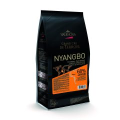 Valrhona Nyangbo Dark 68% Dark Chocolate Feves  #6085