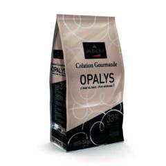 Valrhona Opalys 33% White Chocolate feves 3kg/6.6lbs