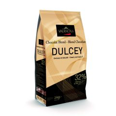 "Valrhona ""Dulcey"" Blonde Chocolate 3 kg #9458"