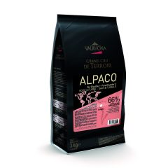 Valrhona  Alpaco 66% Dark Chocolate Feves  #5572