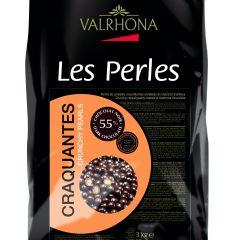 Valrhona Dark Chocolate Crunchy Perles  #4719