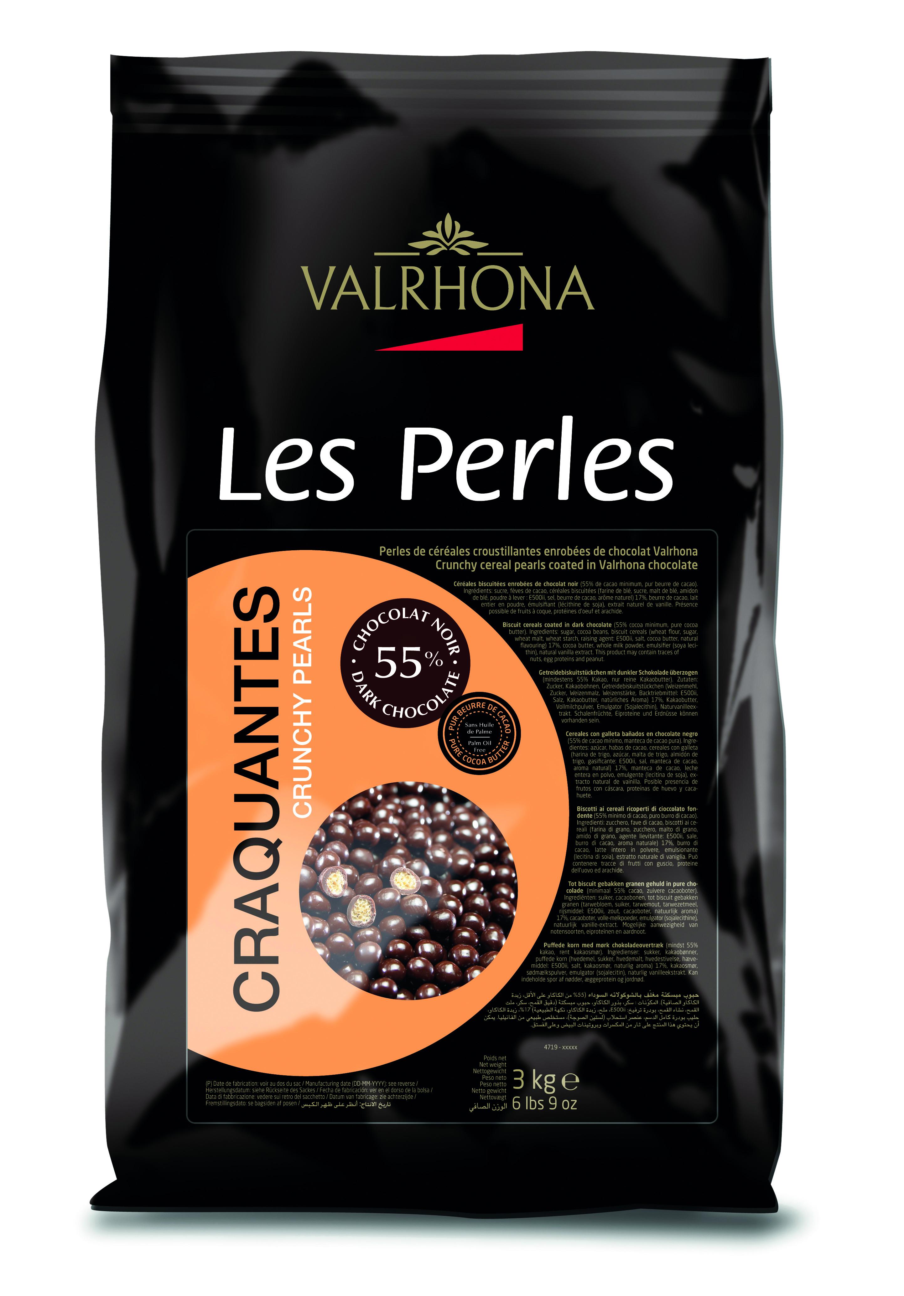 Dark Chocolate Crunchy Pearls