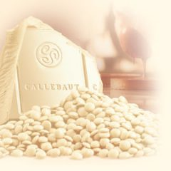 Callebaut 28.1% White Chocolate Callets  W2