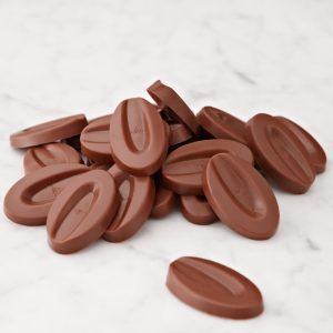 "Valrhona ""Azelia"" Hazelnut/Milk Chocolate feves 3 kg"