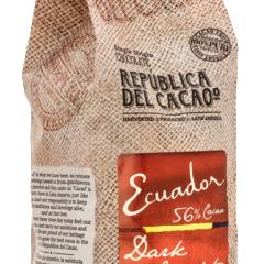 Republica del Cacao Ecuador 56% Dark  wafers 2.5kg/5.5 lbs
