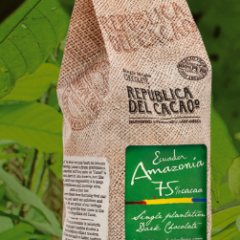 Republica del Cacao Amazonia 75% Dark Chocolate 5.5 lbs