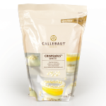 Callebaut White Chocolate Crisp Pearls 800 gr bag